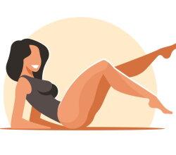 Fitness abdominal exercises
