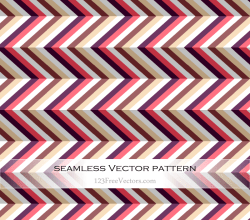 Zigzag Chevron Seamless Pattern Vector Art