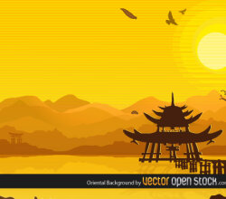 Oriental Background