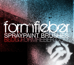 Spray Paint Brush Free Photoshop Brush Download