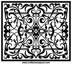 Rectangular Shape Ornament Vectors