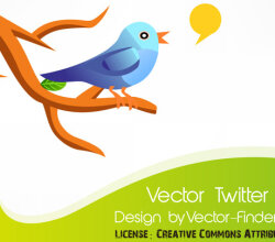 Free Vector Twitter Bird