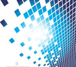 Blue Tiles Background Design