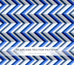 Seamless Zig Zag Pattern Abstract Background Vector