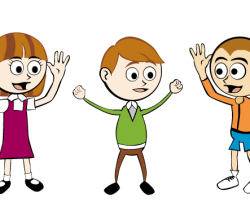 Vector Cartoon Children Graphics