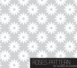 Roses Illustrator Patterns