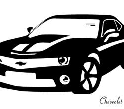 Chevrolet Camaro Vector Image