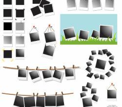 Polaroid Frames Vector
