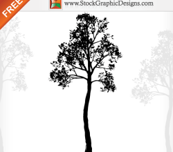 Nature Tree Free Vector Illustration