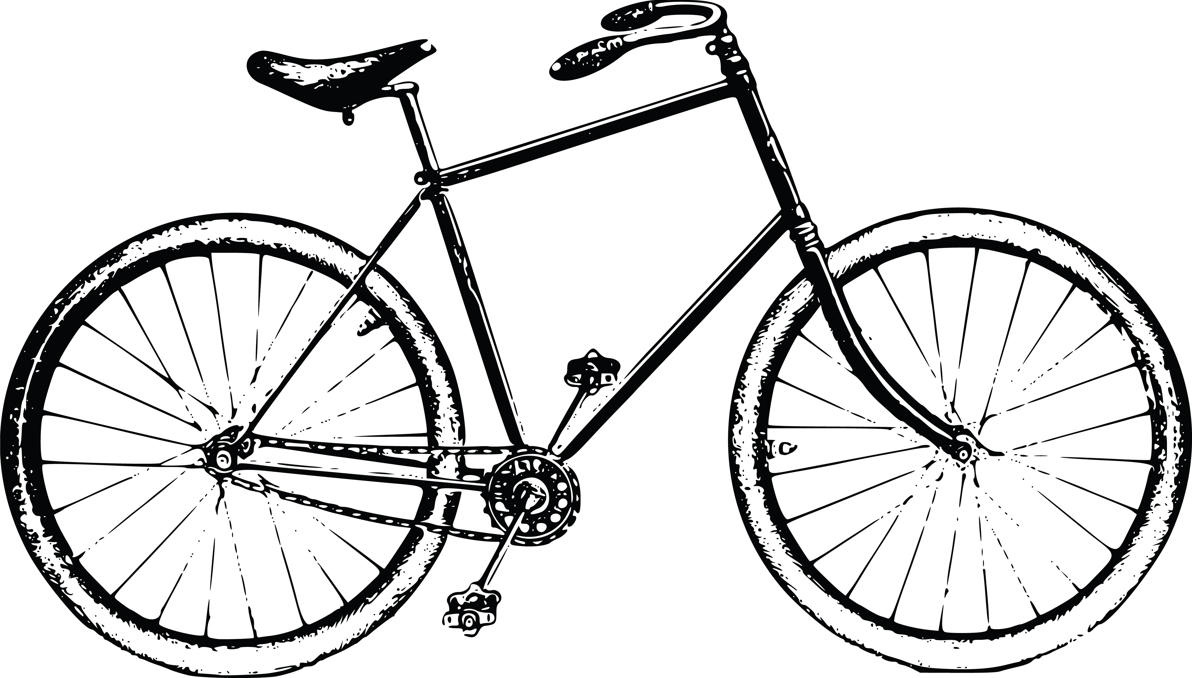 Free Clipart Of A Bicycle