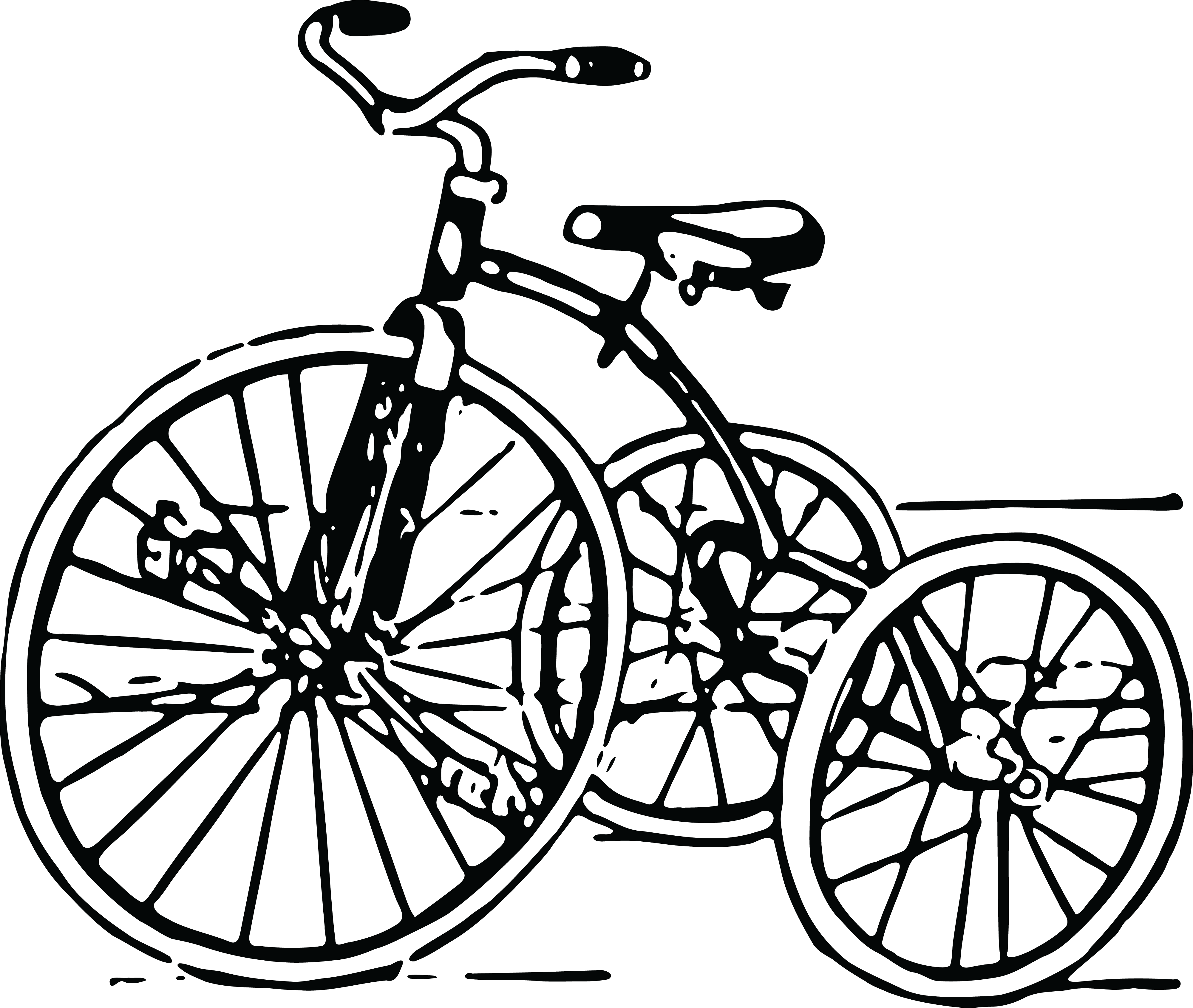 Free Clipart Of A Tricycle