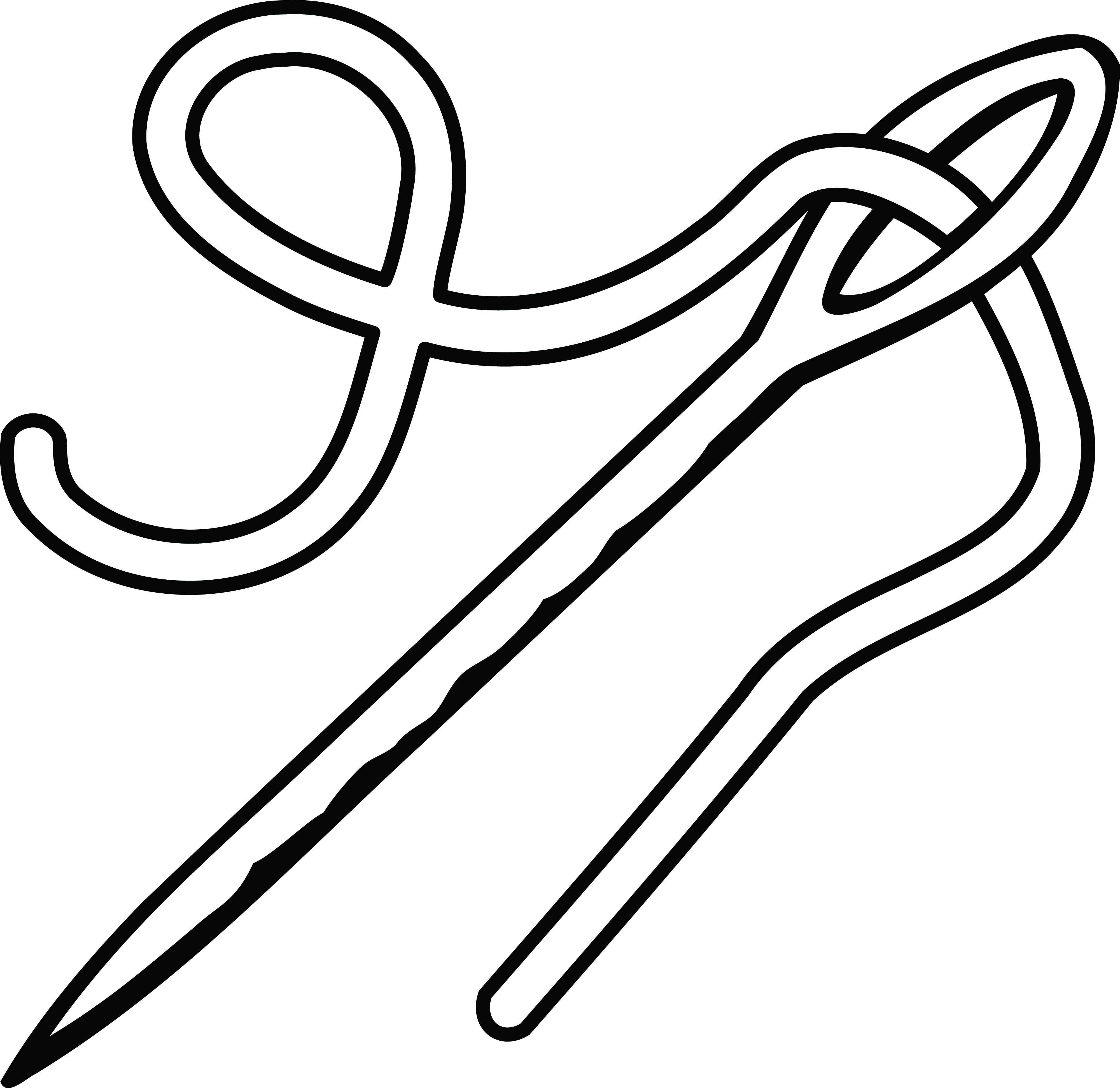 Free Clipart Of A Needle And Thread