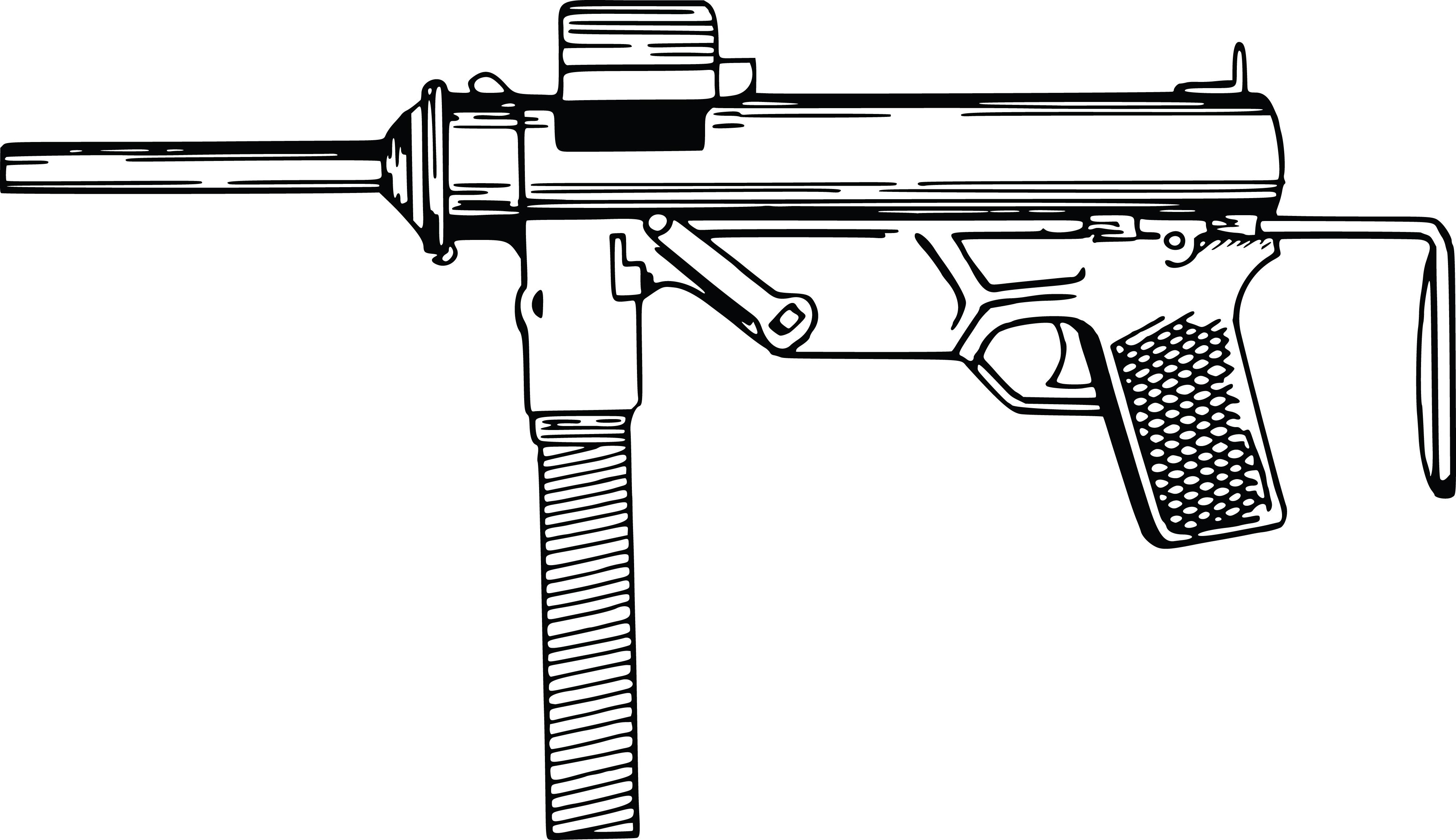 a red gun