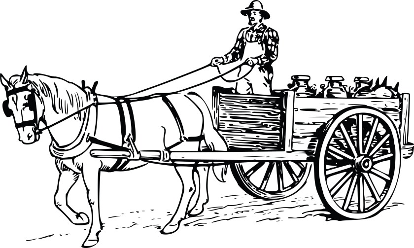 Image result for clipart horse carts