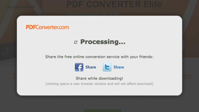 PDFConverter 線上 PDF 轉 DOC、XLS、PPT 及建立 PDF 文件服務