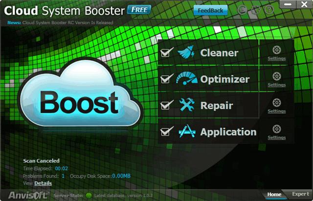 Cloud System Booster 使用雲端技術的系統加速軟體