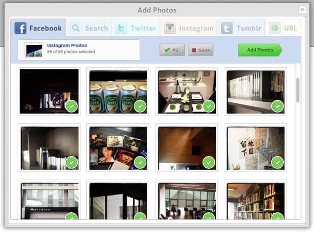 Loupe 分享精采片刻,線上製作個性化相片拼貼