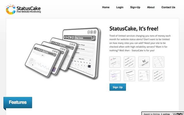 StatusCake 免費網站監控服務,斷線自動以 Email、簡訊、Skype 通知用戶