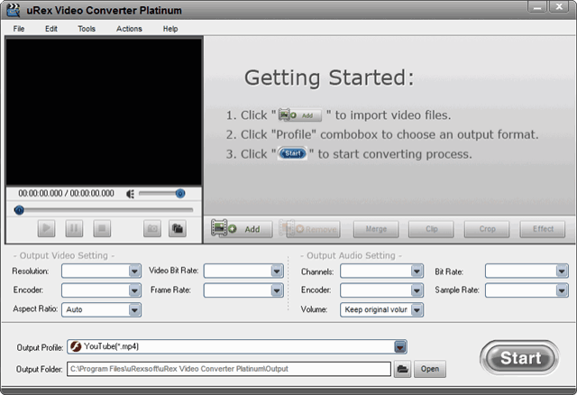 uRex Video Converter Platinum