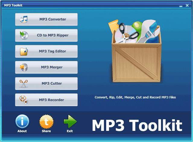 MP3 Toolkit - 六合一 MP3 工具箱限時免費(含序號)