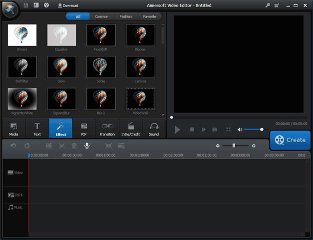 Aimersoft Video Editor 影片編輯軟體,限時免費(至 8/21)