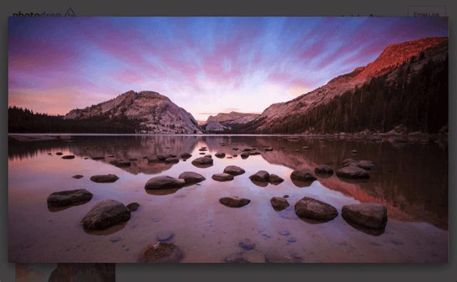 Photodrop 簡易圖片分享服務,拖曳立即產生網路相簿