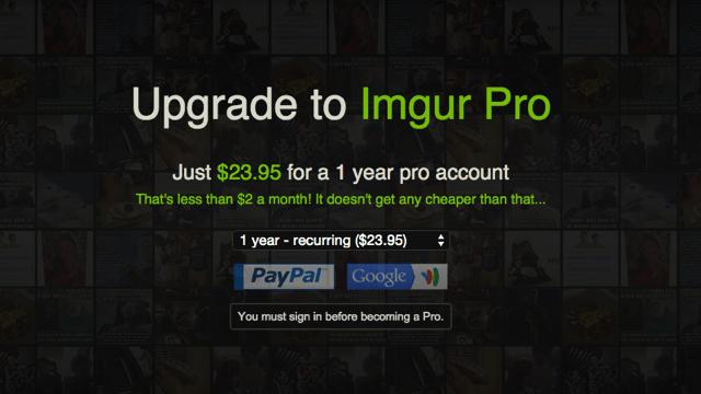 Imgur Pro 付費功能全面啟動,註冊即獲無限容量圖片上傳空間