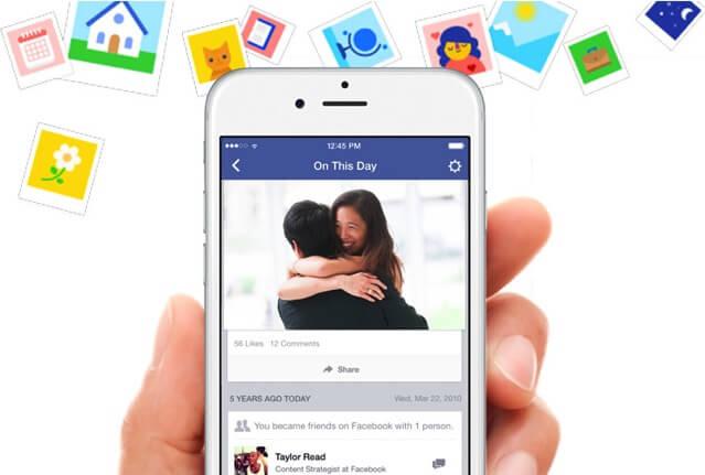 Facebook 推出「On This Day」歷史上的今天,快速倒轉回顧過往大小事