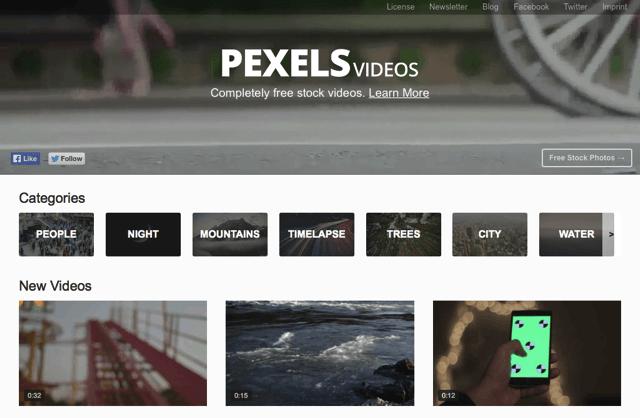 不只是免費圖庫!Pexels Videos 影片素材提供超多 CC0 短片免費下載