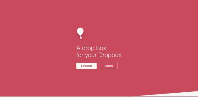 Balloon.io 在 Dropbox 建立接收檔案頁面,開放其他人一鍵快速上傳檔案