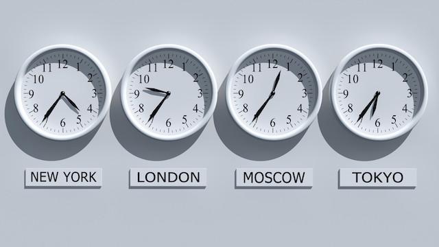 Onetime 世界時間查詢 iOS App,在錶面顯示多個城市時差
