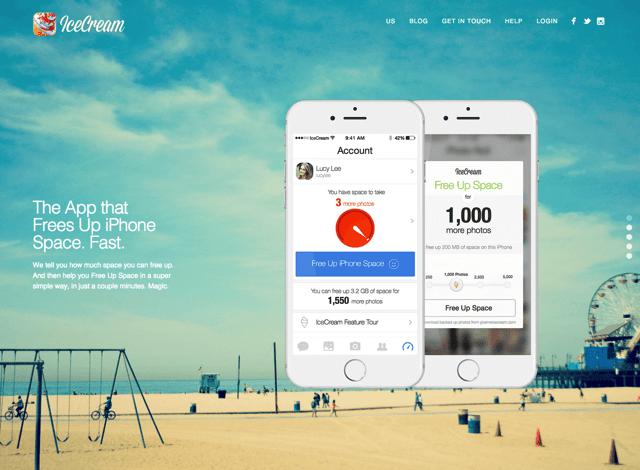 IceCream 解決 iPhone 容量不足問題!拍照不再錯過精彩瞬間(iOS App)