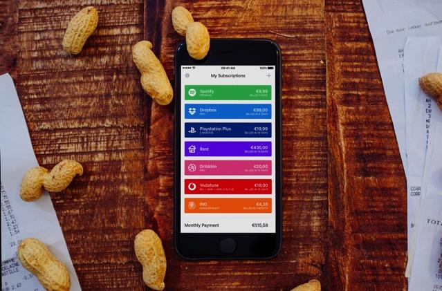 Billy 付費訂閱服務管理工具,掌握每月支出、帳單過期提前通知(iOS App) via @freegroup