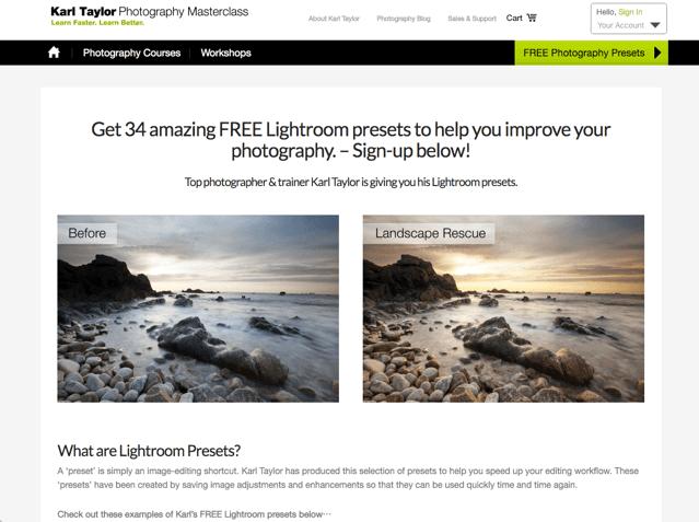 免費下載 34 種 Adobe Lightroom Presets 預設集特效,輕鬆套用濾鏡修圖更簡單 via @freegroup