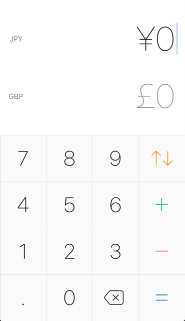 Currency for iOS