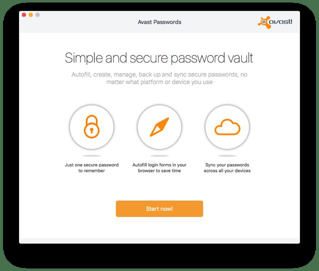 Avast Passwords