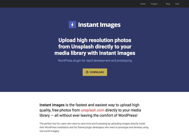 Instant Images 讓 WordPress 整合免費高畫質圖庫,一鍵下載匯入媒體庫