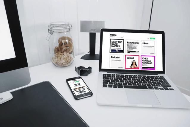 Upsite 免費架站平台,支援 Markdown 輕鬆打造回應式網頁設計