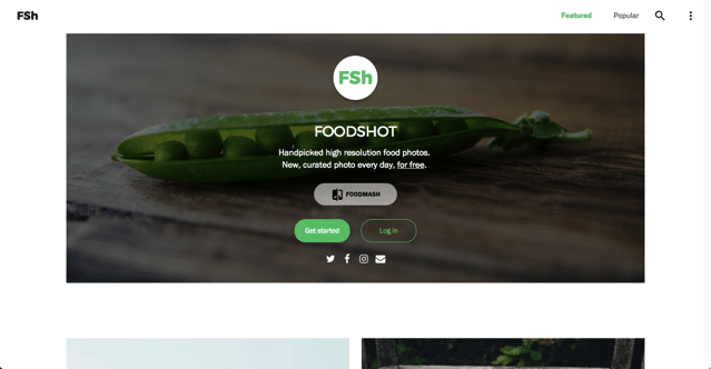 Foodshot 難得一見美食免費圖庫,手工嚴選高畫質食物相片下載每日更新