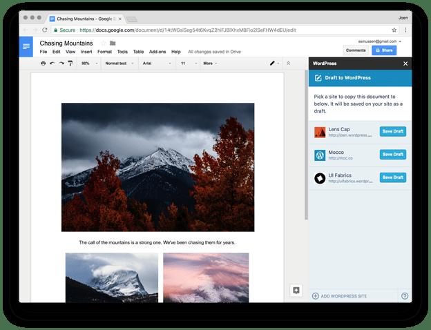 讓 Google Docs 成為你的 WordPress 文章編輯器,支援多人協作一鍵同步貼文