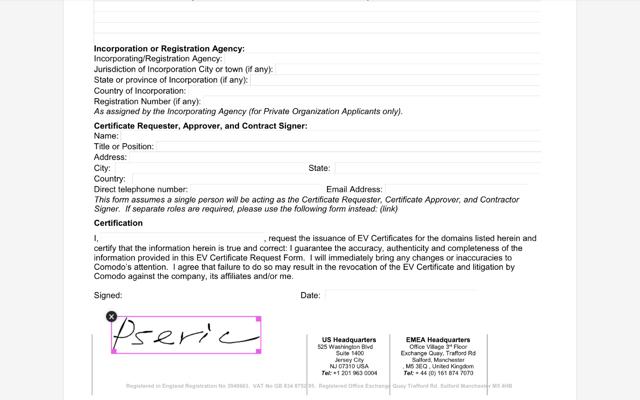 Smallpdf eSign PDF
