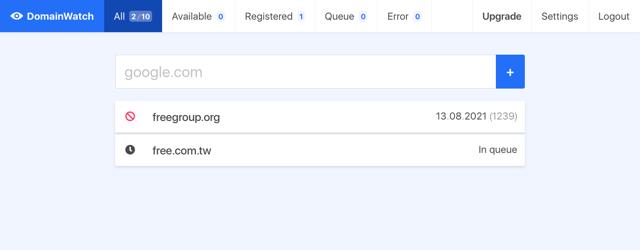 DomainWatch