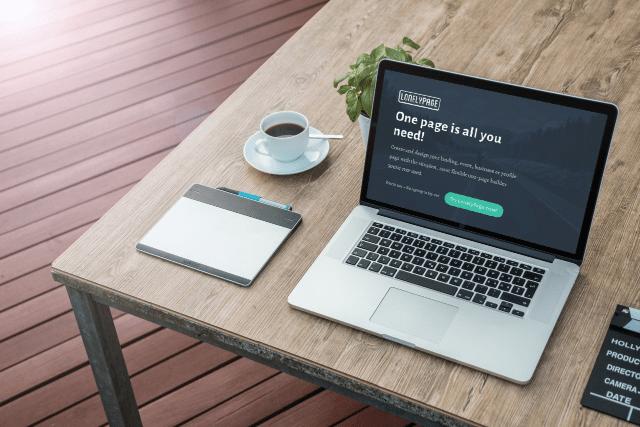 來自瑞典,LonelyPage 讓你輕鬆設計、打造網路上的單頁式個人頁面