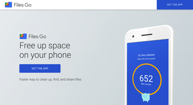 Files Go by Google 為你釋放更多容量!找出用不到的應用程式或檔案(Android) via @freegroup