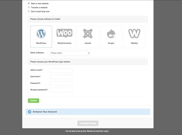在 SiteGround 虛擬主機建立 WordPress 網站教學