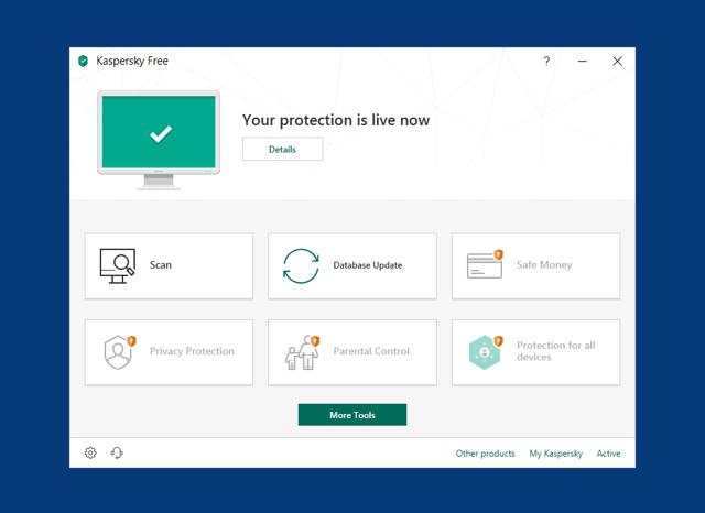 Kaspersky Free 2019 卡巴斯基最新免費防毒軟體下載,改善速度、安全性和掃描技術