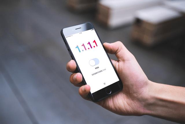 1.1.1.1 免費 iOS、Android 應用程式下載,讓行動裝置上網更快更安全