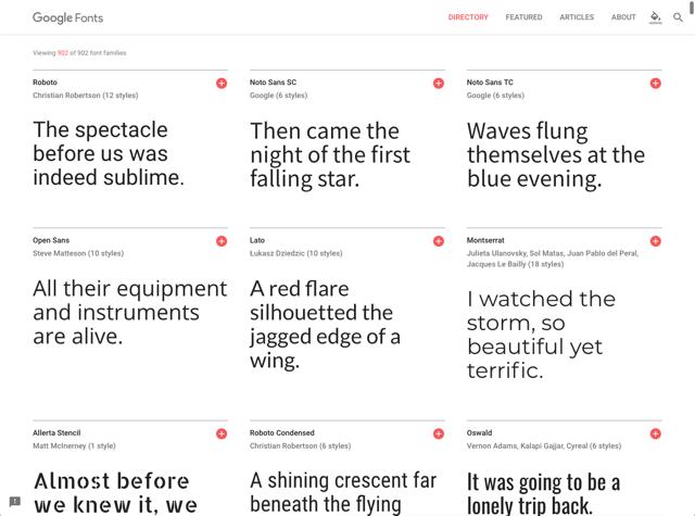 思源黑體 Noto Sans TC 繁體中文網頁字型正式上架 Google Fonts