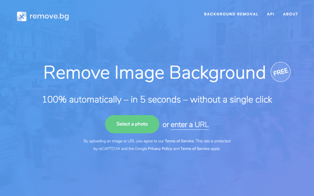 remove.bg 超強大免費線上去背工具,上傳圖片五秒鐘自動移除背景