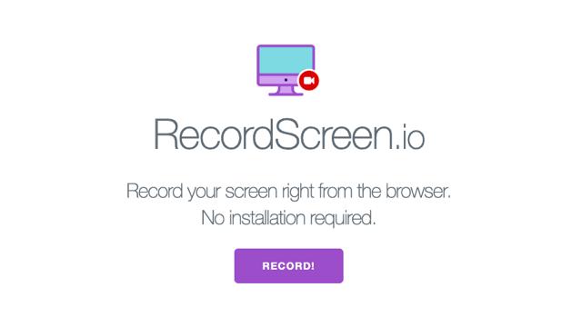 RecordScreen.io 從瀏覽器進行螢幕錄影,免下載安裝軟體或外掛